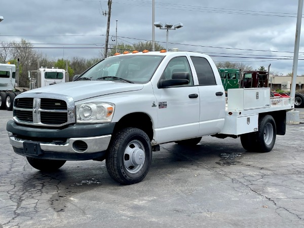 Used 2009 Dodge Ram 3500 Quad Cab ST - Cummins Diesel - 6 Speed Manual for sale $19,800 at Midwest Truck Group in West Chicago IL