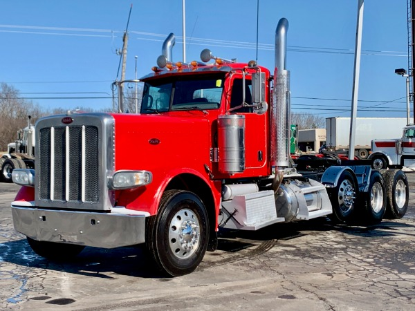 Used 2013 Peterbilt 389 Tri-Axle Day Cab - ISX15 - 500 HP - Wet Kit! for sale $59,800 at Midwest Truck Group in West Chicago IL