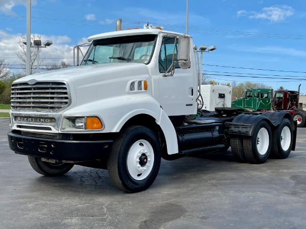 Used 2004 STERLING LT9500 Day Cab - Mercedes Turbo-Diesel - 13 Speed - 46K Rears for sale $25,800 at Midwest Truck Group in West Chicago IL