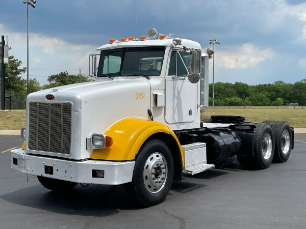Used 2004 Peterbilt 378 Day Cab - Cat Turbo Diesel - 13 Speed Manual - Wet Kit - LOW MILES! for sale $42,800 at Midwest Truck Group in West Chicago IL