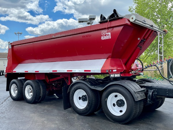 Used 2002 L&M Pit Boss Dump Trailer for sale Call for price at Midwest Truck Group in West Chicago IL