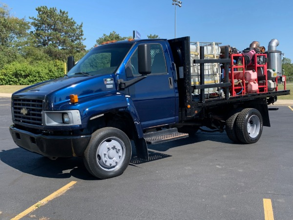 Used 2008 Chevrolet C4500 Power Washing Truck - DURAMAX DIESEL - AUTOMATIC for sale Call for price at Midwest Truck Group in West Chicago IL