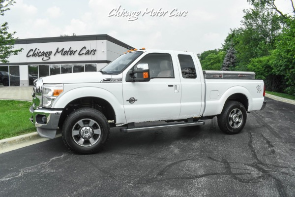 Used 2011 Ford F-250 Super Duty Lariat 4x4-POWERSTROKE DIESEL-ONE OWNER-EXTREMELY CLEAN! for sale $23,800 at Midwest Truck Group in West Chicago IL