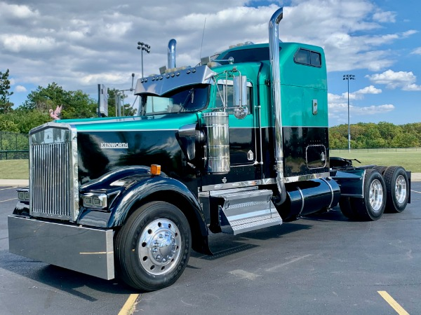 Used 1997 Kenworth W900 Sleeper - Detroit Diesel - 485 HP - 13 Speed - RECENT INFRAME! for sale $69,800 at Midwest Truck Group in West Chicago IL